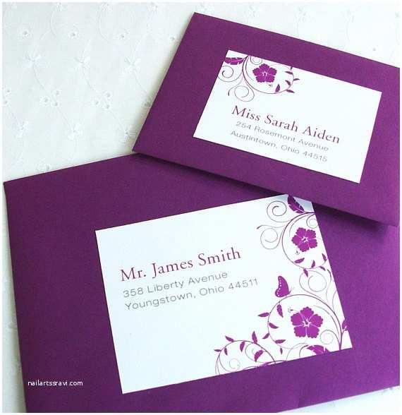 Avery Labels for Wedding Invitations Items Similar to Avery Custom Monogrammed Wedding