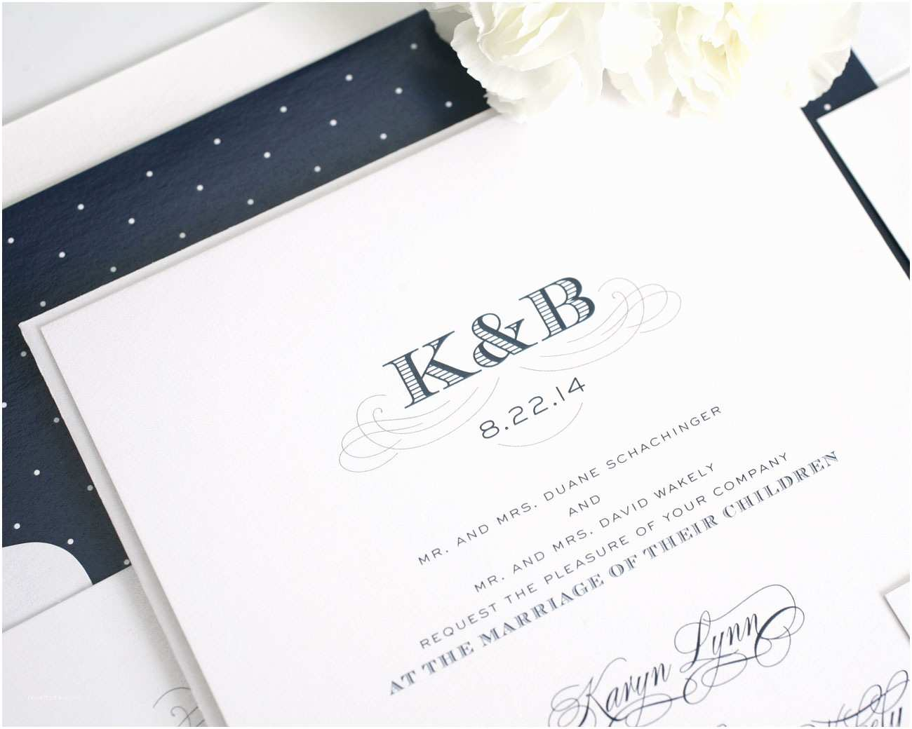 amazing monogram wedding invitations