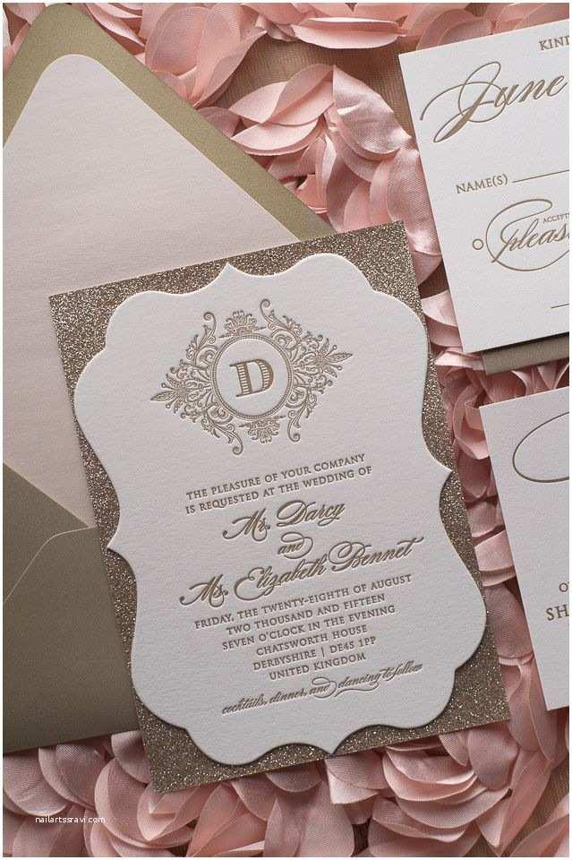 B Wedding Invitations Abigail Suite Styled Ornate Shape Fancy