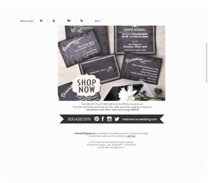 B Wedding Invitations B Wedding Invitations Promo Code News Press And