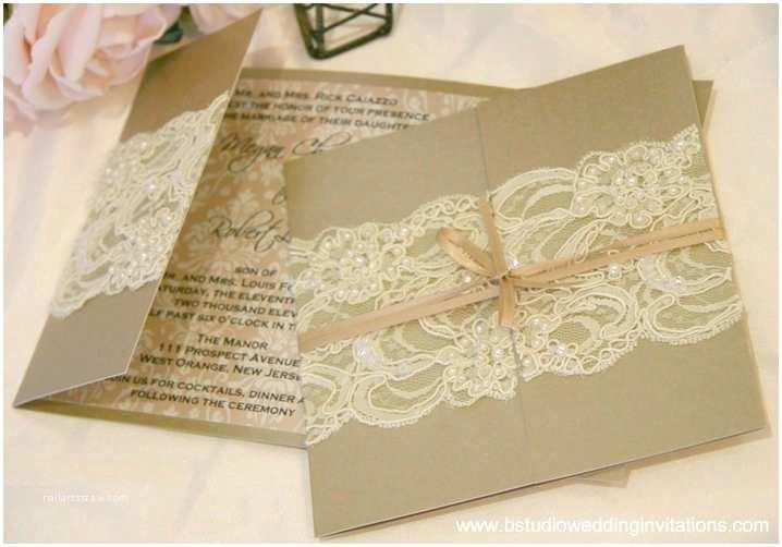 B Wedding Invitations Ivory – B Studio Wedding Invitations Style