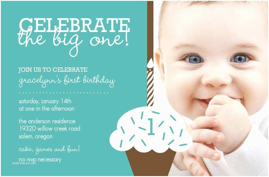 Baby Birthday Invitations Free Baby First Birthday Invitation – orderecigsjuicefo