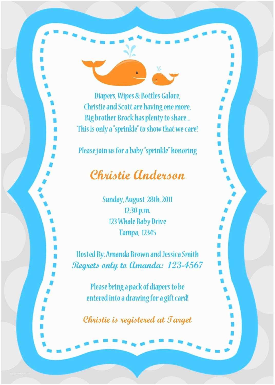 Baby Boy Shower Invitation  Baby Boy Shower Invitations