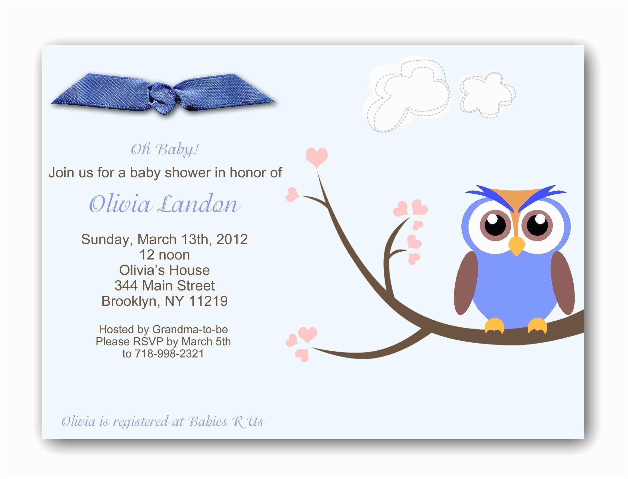 Baby Boy Shower Invitation Wording Baby Shower Invitations for Boys
