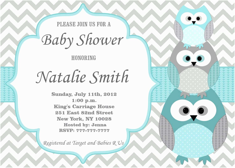 Baby Boy Shower Invitations Baby Shower Invitation Baby Shower Invitations for Boys