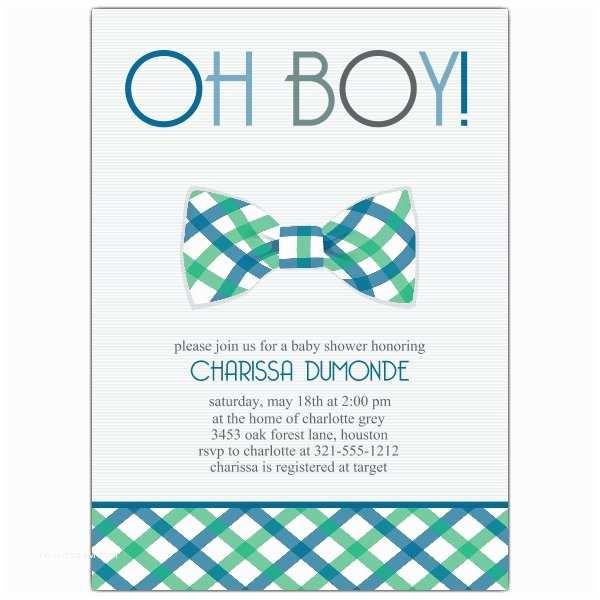 Baby Boy Shower Invitations Bowtie Baby Shower Invitations