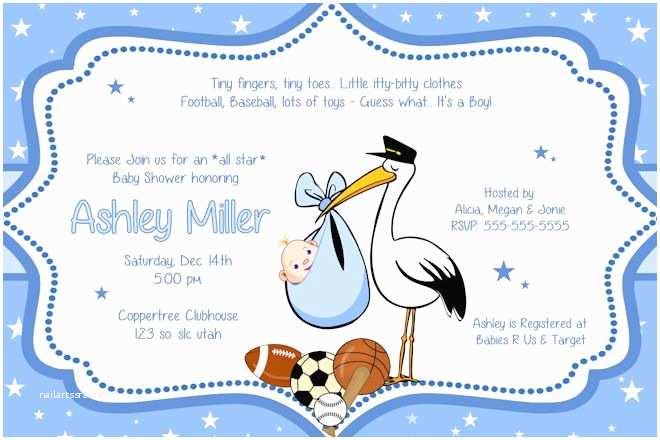 Baby Boy Shower Invitations Ideas for Boys Baby Shower Invitations