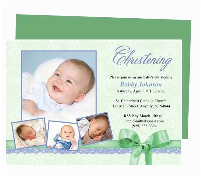 Baby Christening Invitations 21 Best Printable Baby Baptism and Christening Invitations