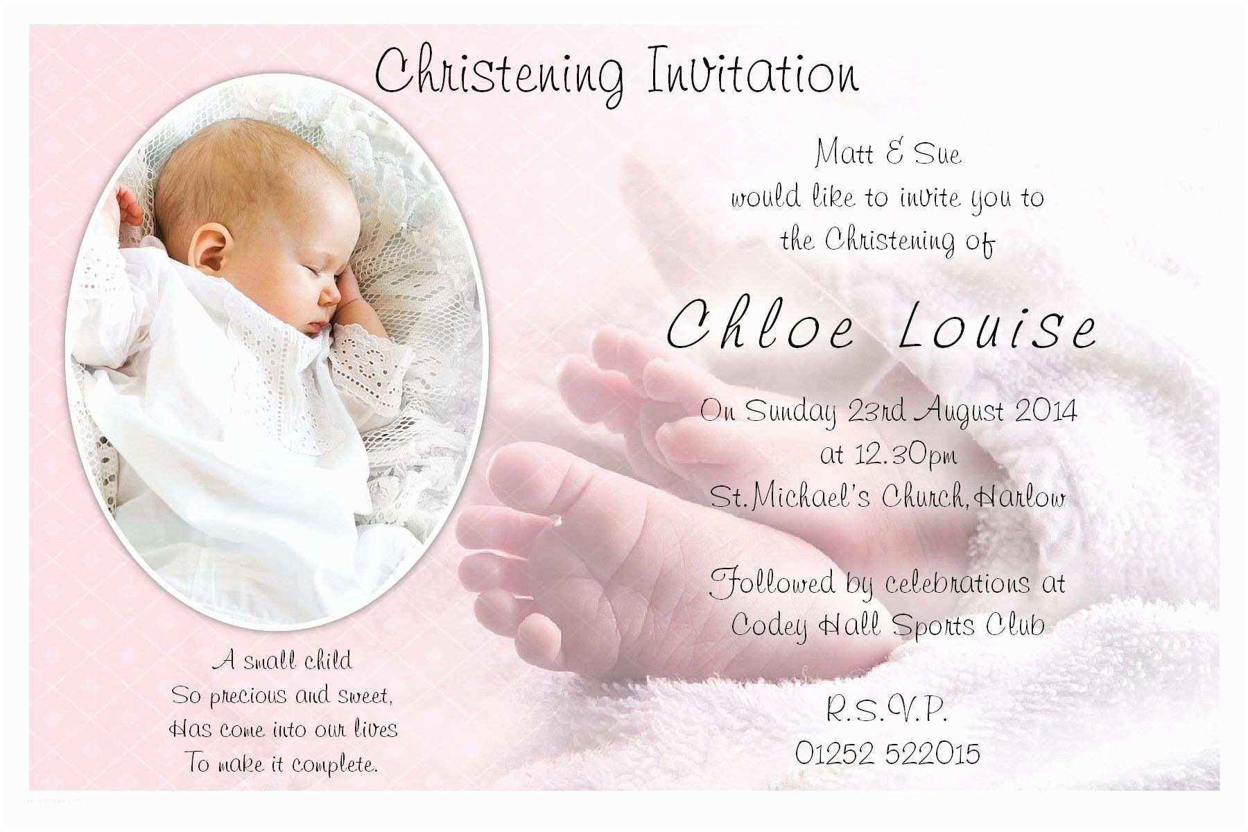 Baby Christening Invitations Baptism Invitation Blank Templates for Boy
