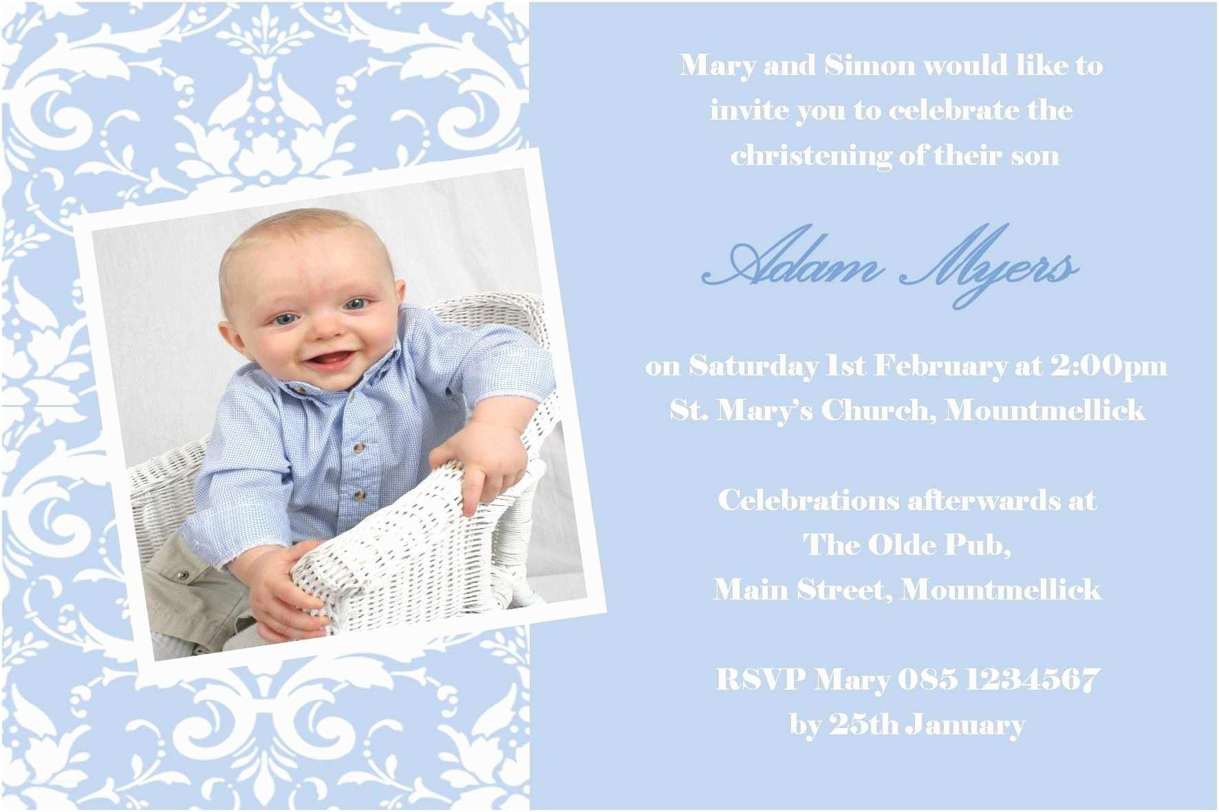 Baby Christening Invitations Baptism Invitations Wording Baptism Invitation Wording