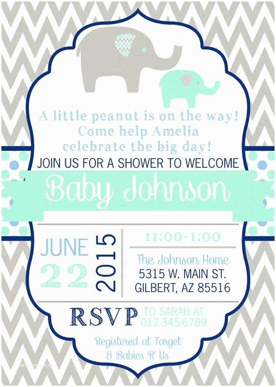 Baby Elephant Baby Shower S Elephant Baby Shower  Boy Baby Shower