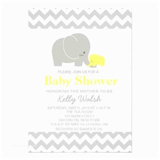 Baby Elephant Baby Shower Invitations Elephant Baby Shower Invitations