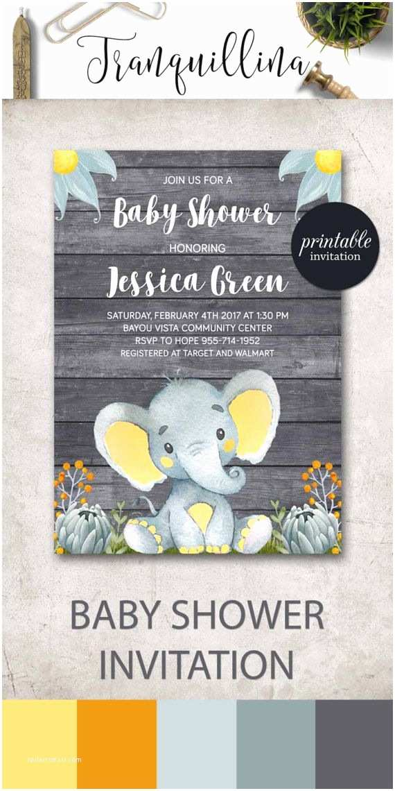 Baby Elephant Baby Shower Invitations the 25 Best Shower Invitations Ideas On Pinterest