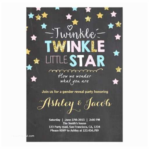 Baby Gender Reveal Invitations Baby Gender Reveal Party Invitations and Party Ideas
