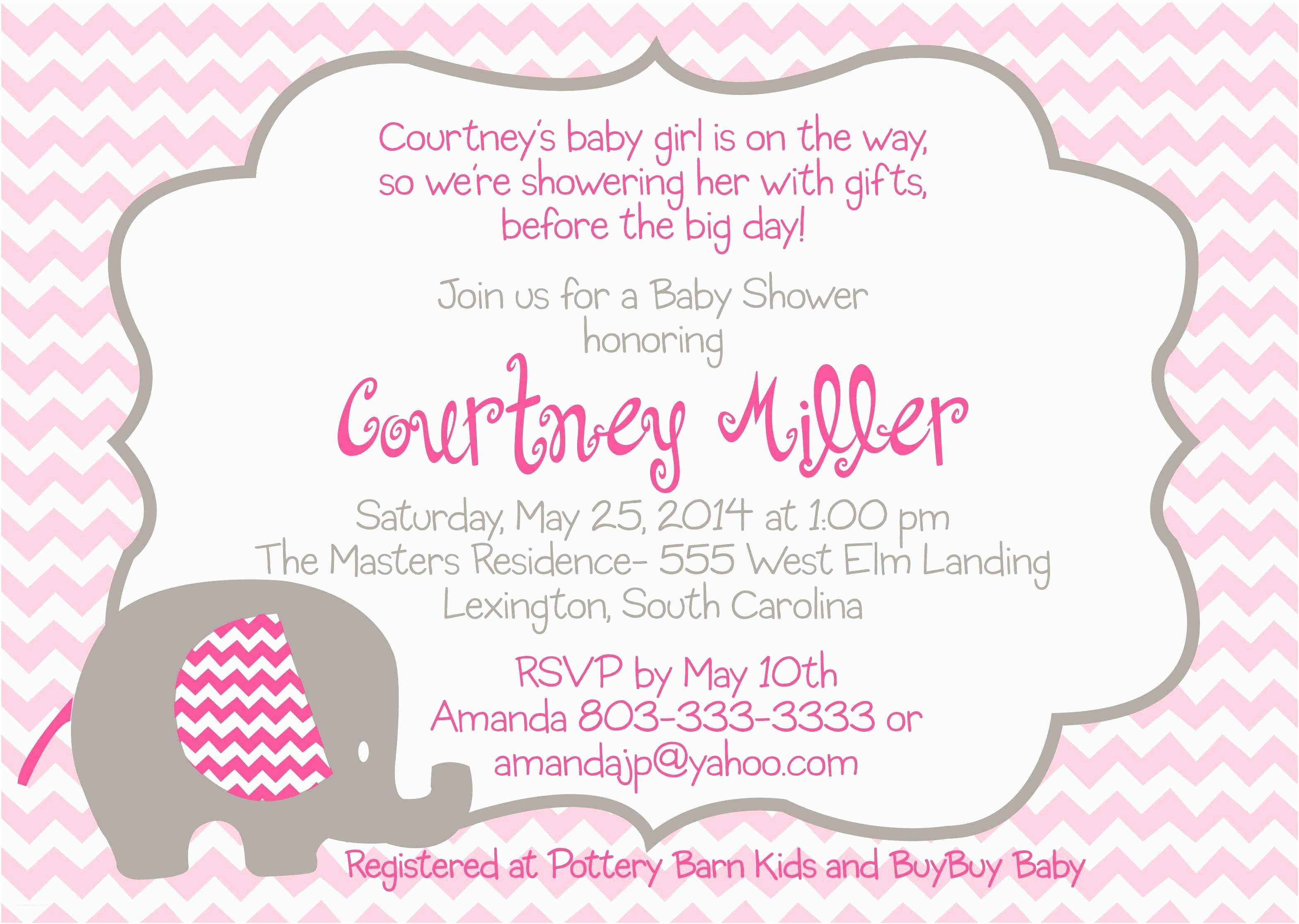 Baby Girl Baby Shower Invitations the Fascinating Free Baby Shower Invitation Templates