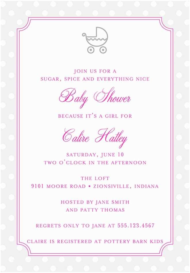 Baby Girl Shower Invitation 22 Baby Shower Invitation Wording Ideas