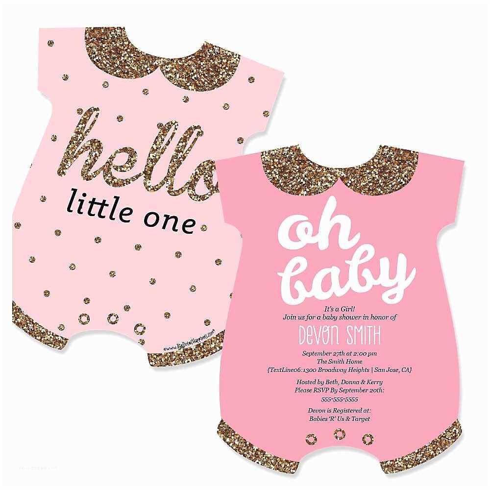 Baby Girl Shower Invitation Girl Baby Shower Invitations Wording