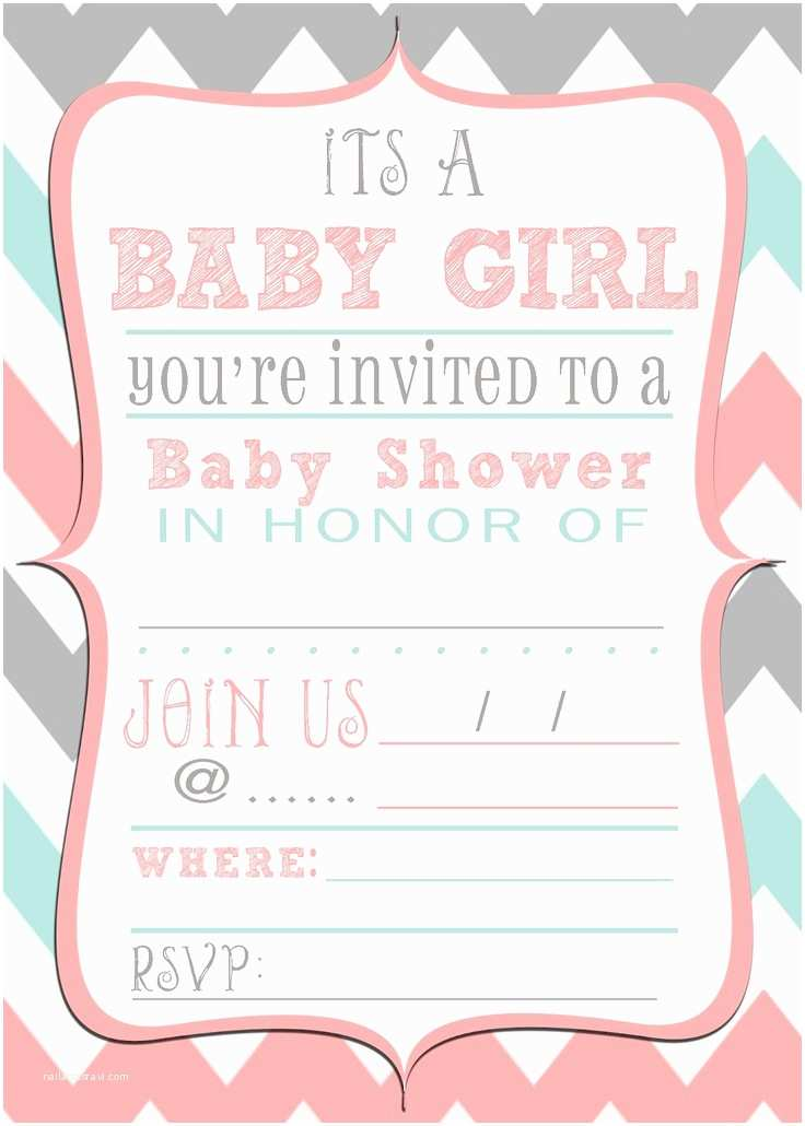 Baby Girl Shower Invitation Most Popular Free Printable Baby Shower Invitations
