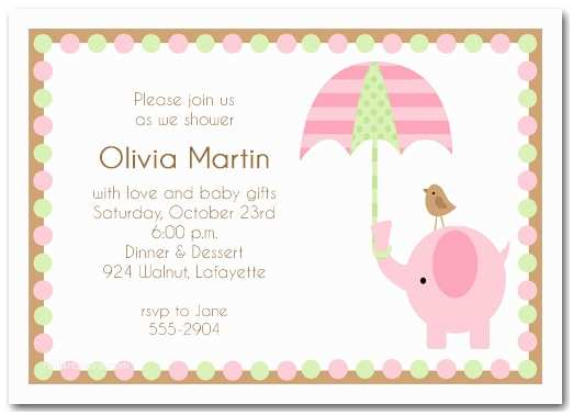 Baby Girl Shower Invitations Baby Shower Invitations for Boy & Girls Baby Shower