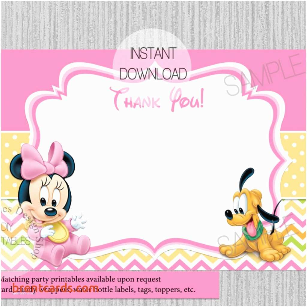 Baby Minnie Mouse Baby Shower Invitations Baby Minnie Mouse Baby Shower Invitations