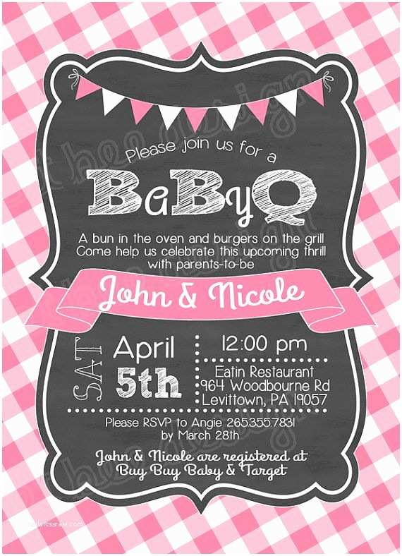 Baby Q Shower Invitations 25 Best Ideas About Baby Shower Barbeque On Pinterest