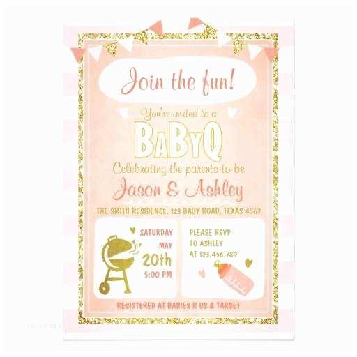 Baby Q Shower Invitations Babyq & Couples Coed Baby Shower Invitations