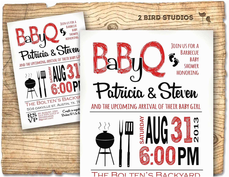 Baby Shower Bbq Invitations Baby Shower Invitation Boy Baby Shower Bbq Barbecue Invite