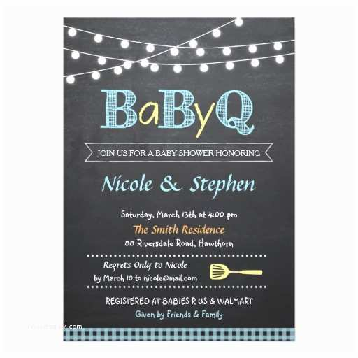 Baby Shower Bbq Invitations Bbq Baby Shower Invitation Babyq