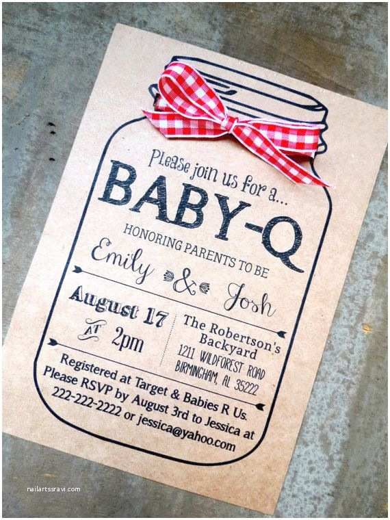 Baby Shower Bbq Invitations Best 25 Baby Q Invitations Ideas On Pinterest