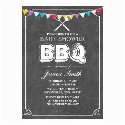 Baby Shower Bbq Invitations Personalized Baby Q Invitations