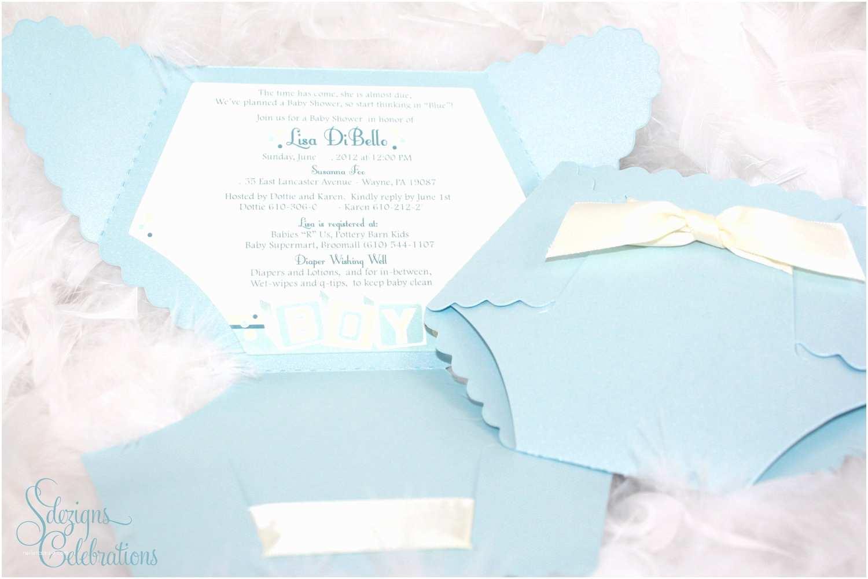 Baby Shower Diaper Invitations Diaper Baby Shower Invitation Baby Block Design by Sdezigns