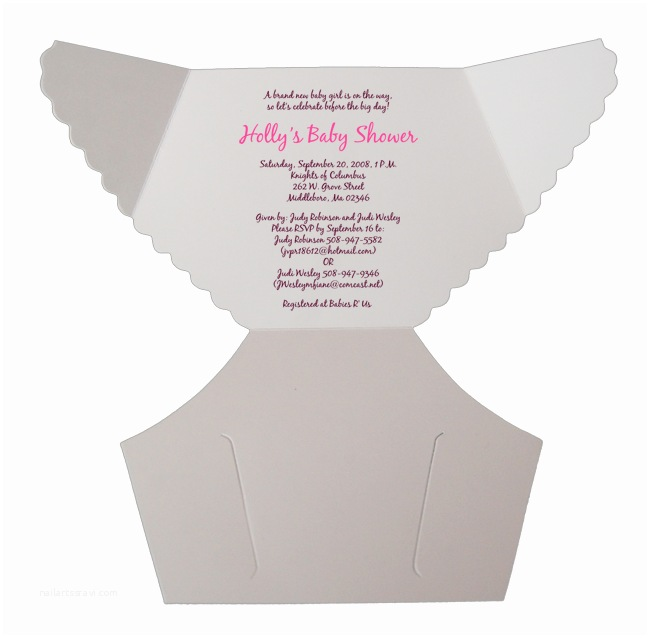 Baby Shower Diaper Invitations Free Baby Diaper Invitation Template