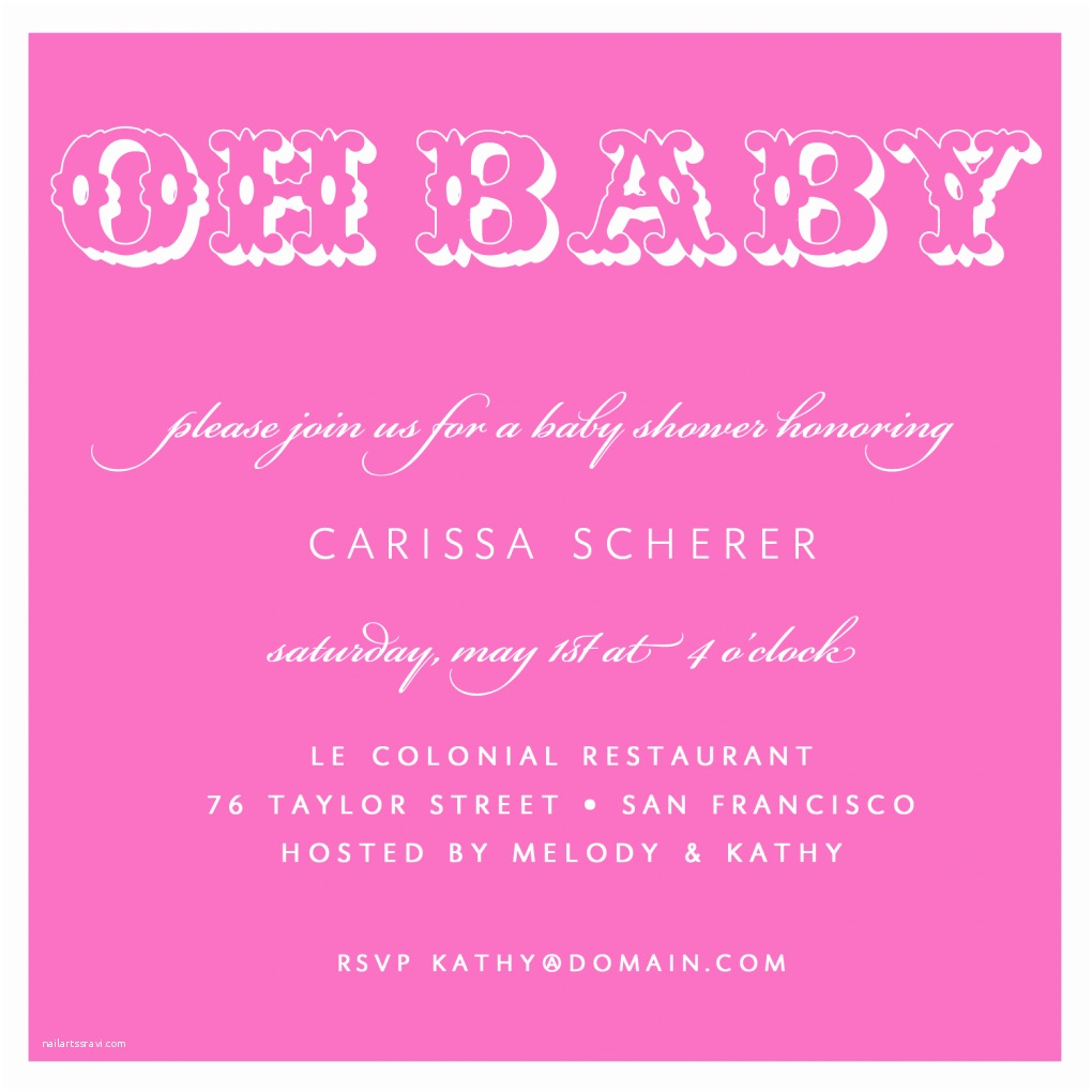 Baby Shower Girl Invitations Baby Shower Invitation Wording for A Girl