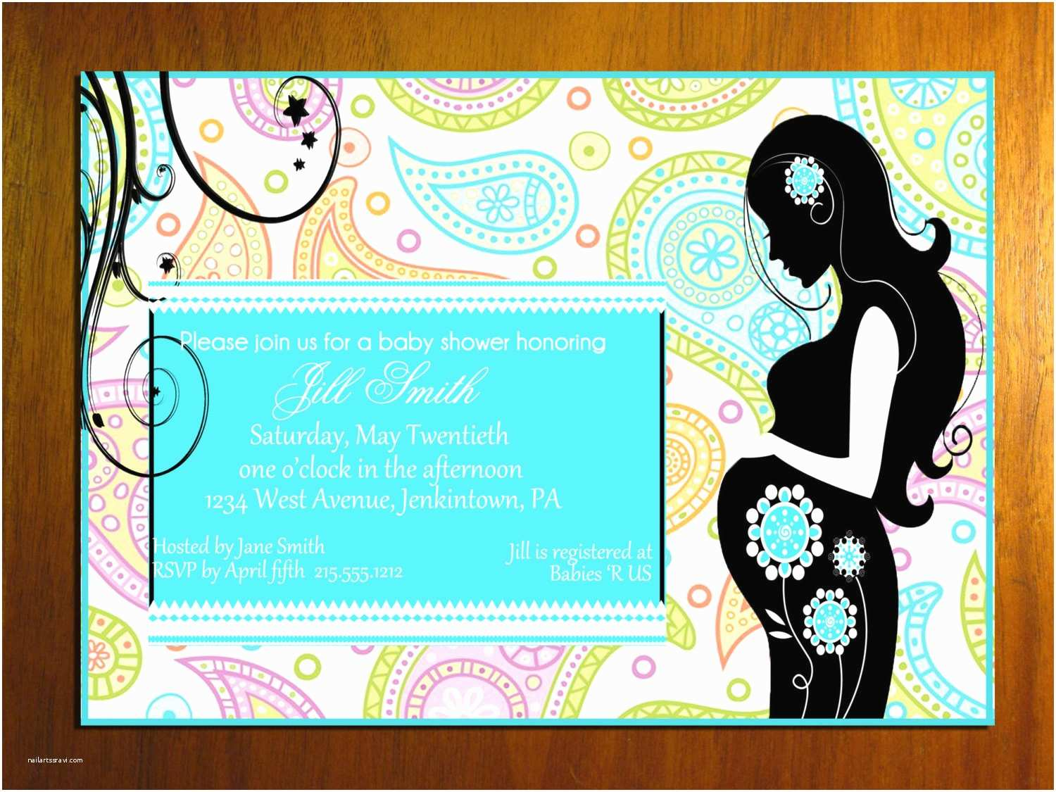 post free printable boys baby shower invitation cards