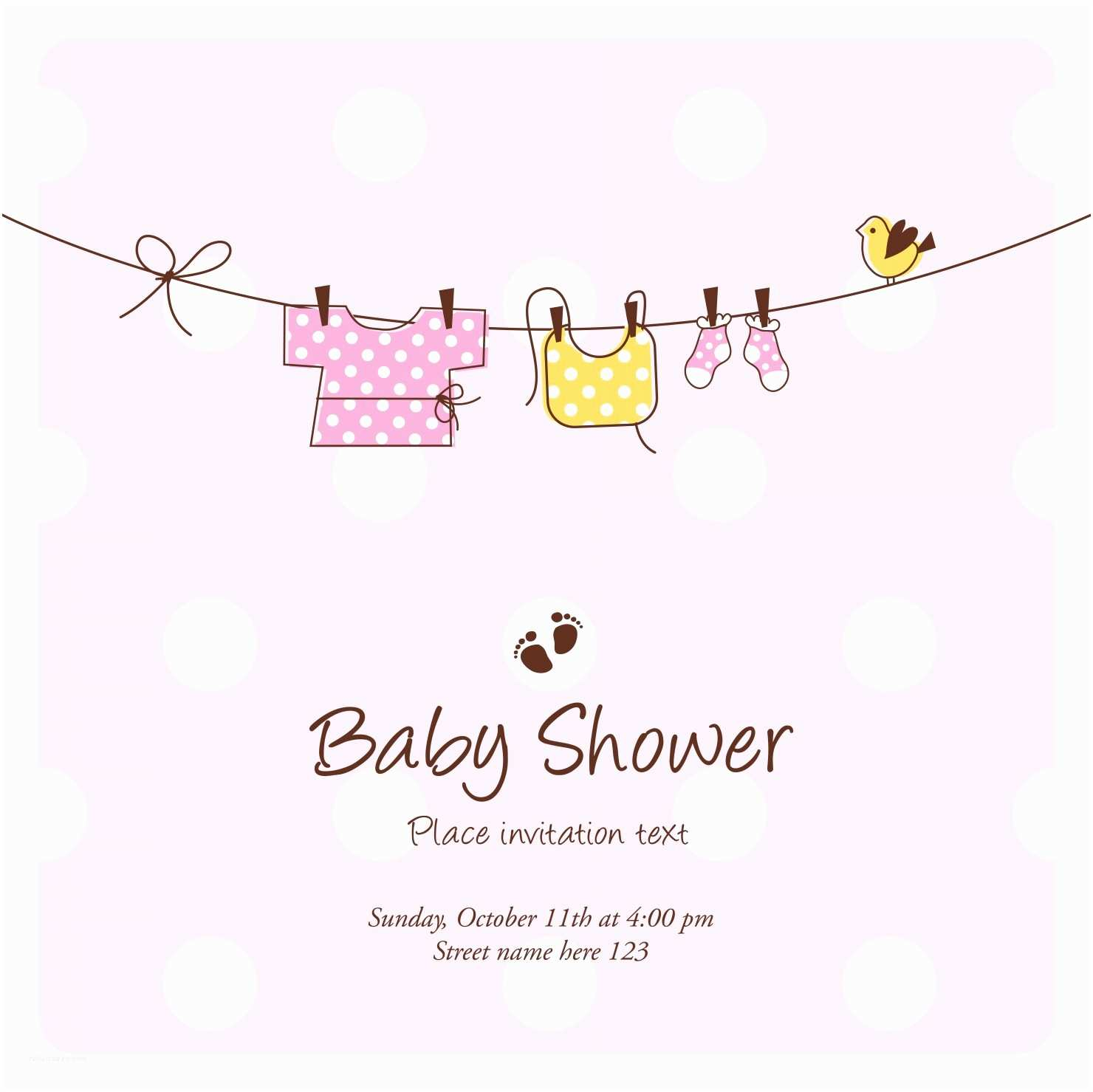 Baby Shower Invitation Cards Baby Shower Invitations the 25 Best Cards • Elsoar