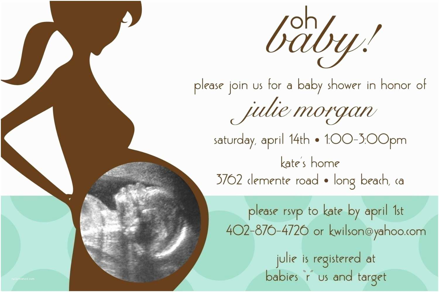 Baby Shower Invitation Examples Examples Baby Shower Invitations