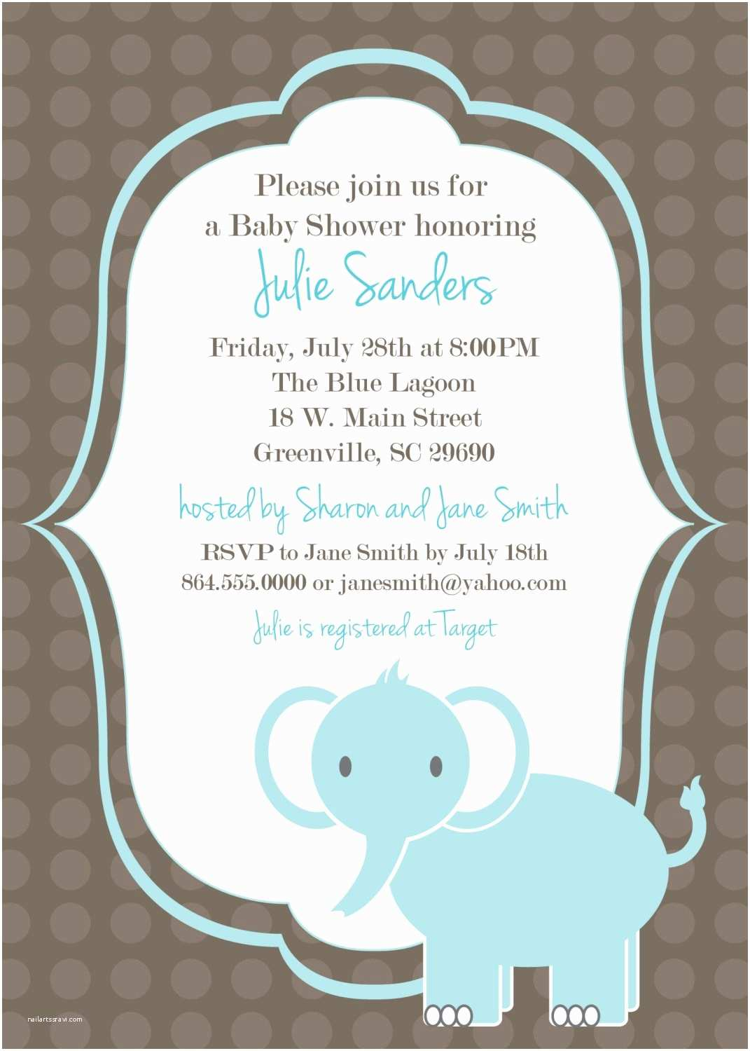 Baby Shower Invitation Examples Free Baby Shower Invitation Templates Microsoft Word