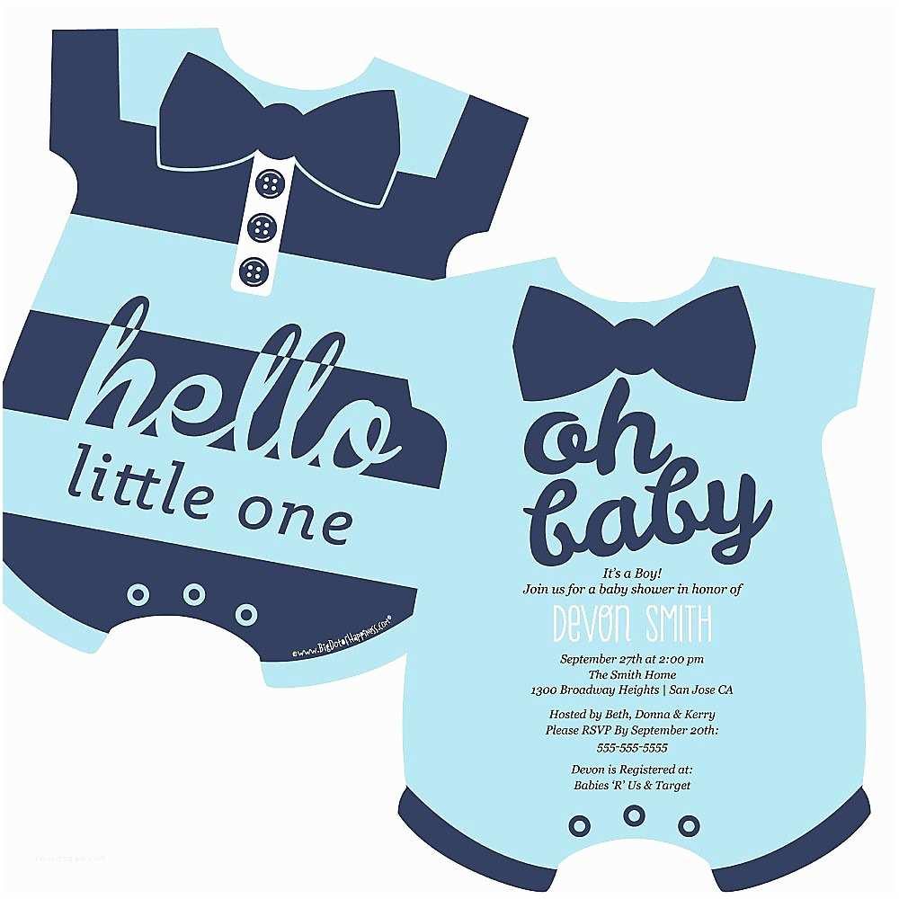 Baby Shower Invitation for Boy Invitation for Baby Shower Charming Baby Boy Baby Shower