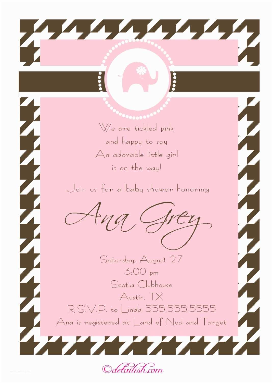 Baby Shower Invitation Girl Baby Shower Girl Invitation