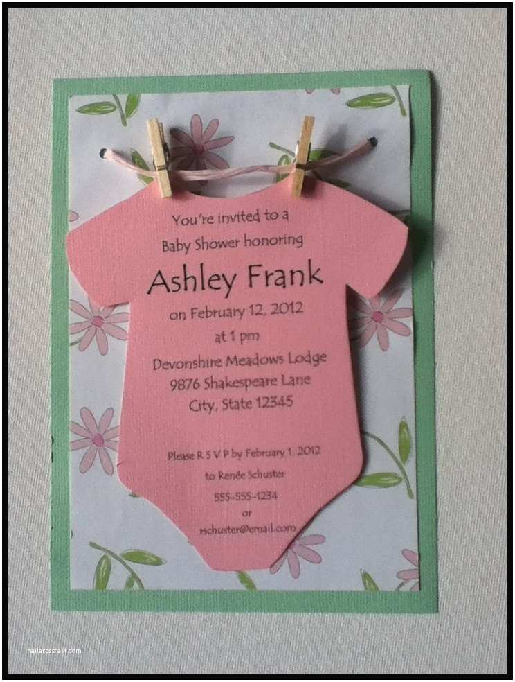 Baby Shower Invitation  Baby Shower Invitation Ideas For