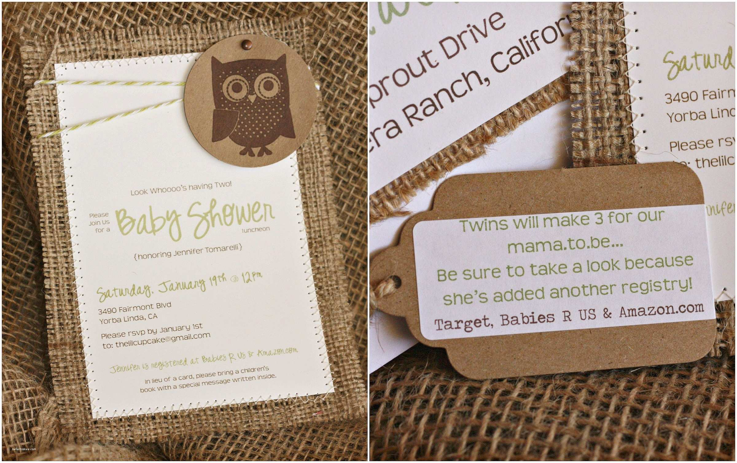 Baby Shower Invitation Ideas Rustic Baby Shower Invitations