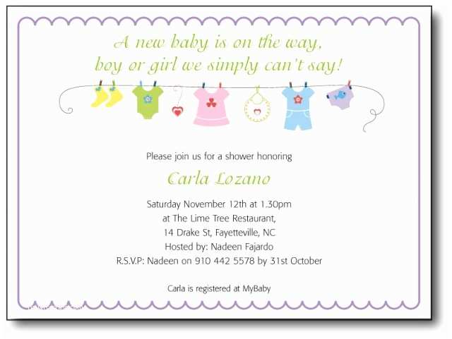Baby Shower Invitation Message Baby Shower Invitation Wording Template