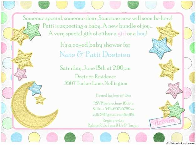 Baby Shower Invitation Message Baby Shower Invitations Wording