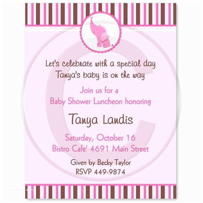 Baby Shower Invitation Message Girl Baby Shower Invitation Wording