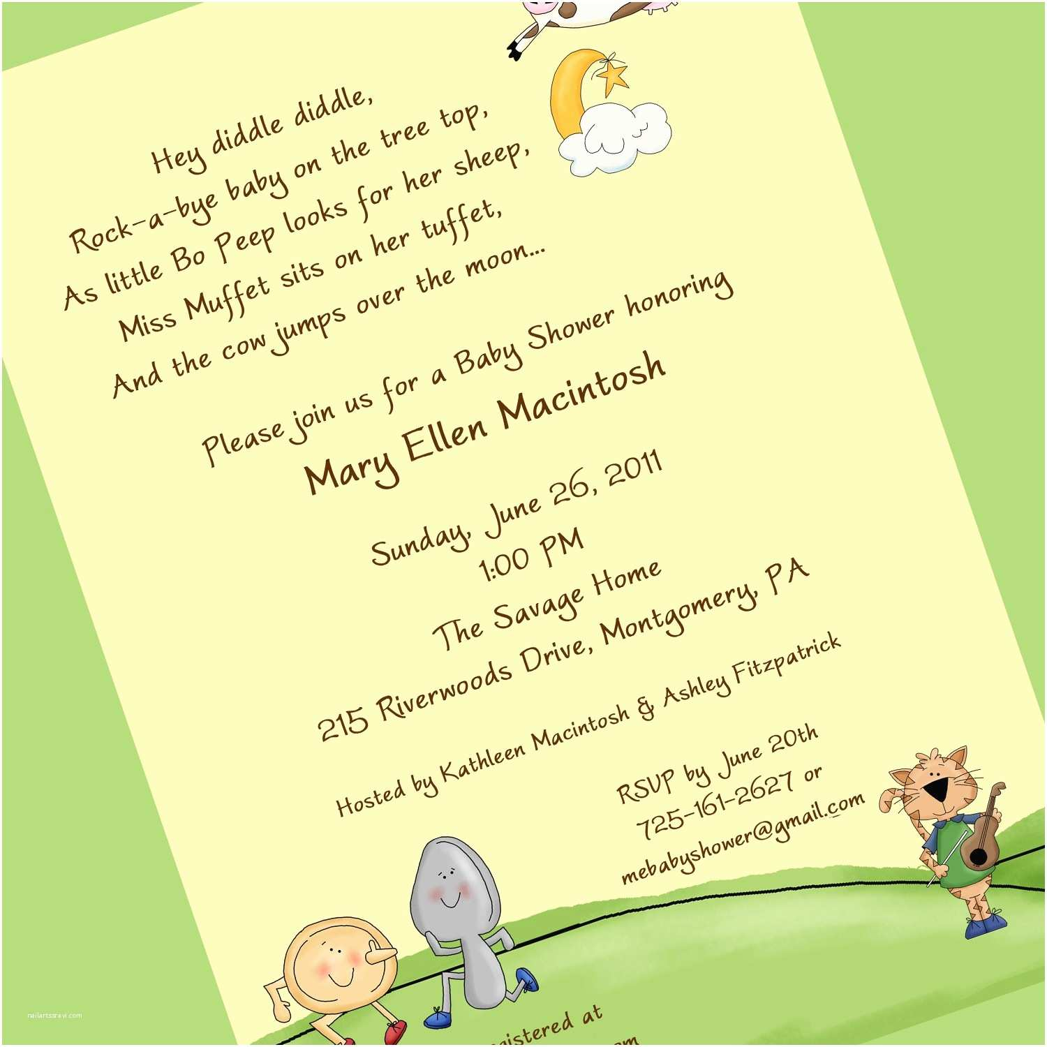 Baby Shower Invitation Message Samples Baby Shower Invitations