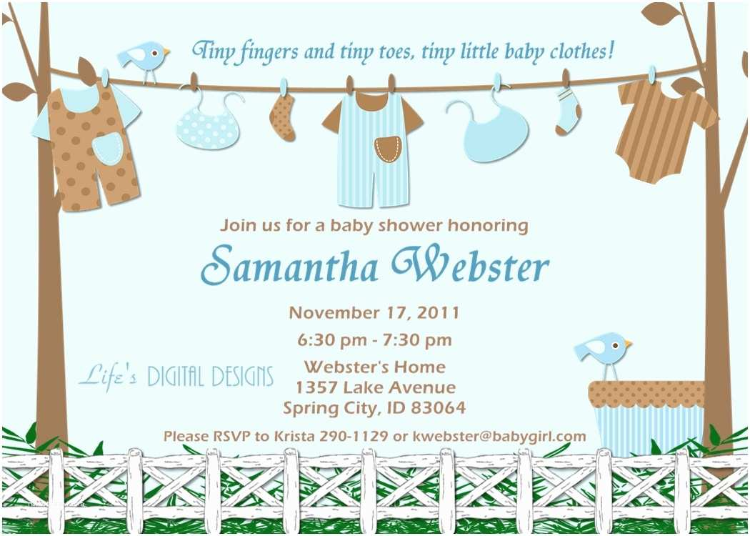 Baby Shower Invitation Message Wording for Baby Shower Invitation