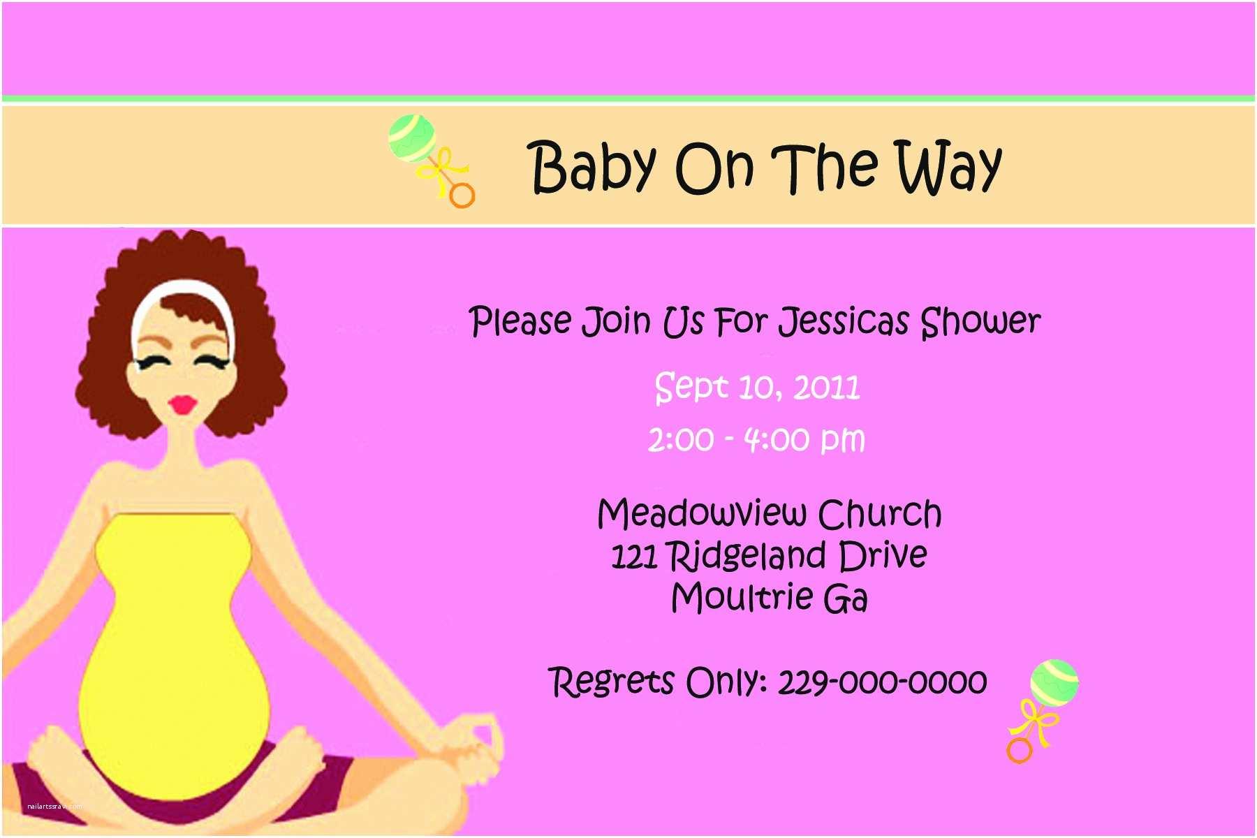 Baby Shower Invitation Templates Baby Shower Invitation Card