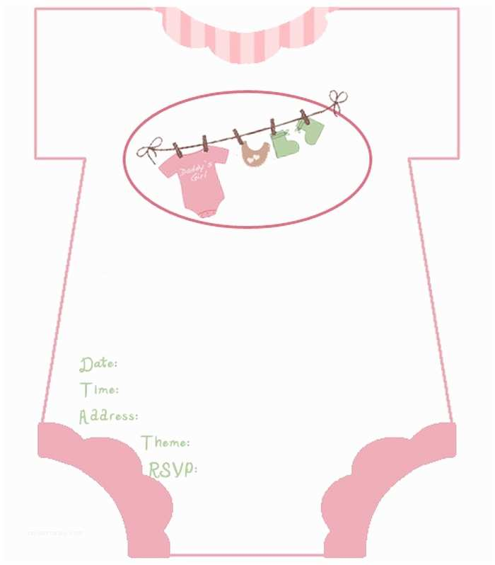 Baby Shower Invitation Templates Diaper Baby Shower Invitations Free Template