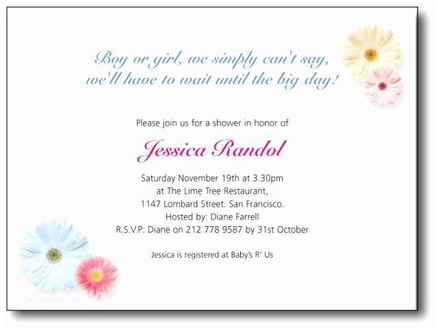 Baby Shower Invitation Wording Baby Shower Invitations Wordings