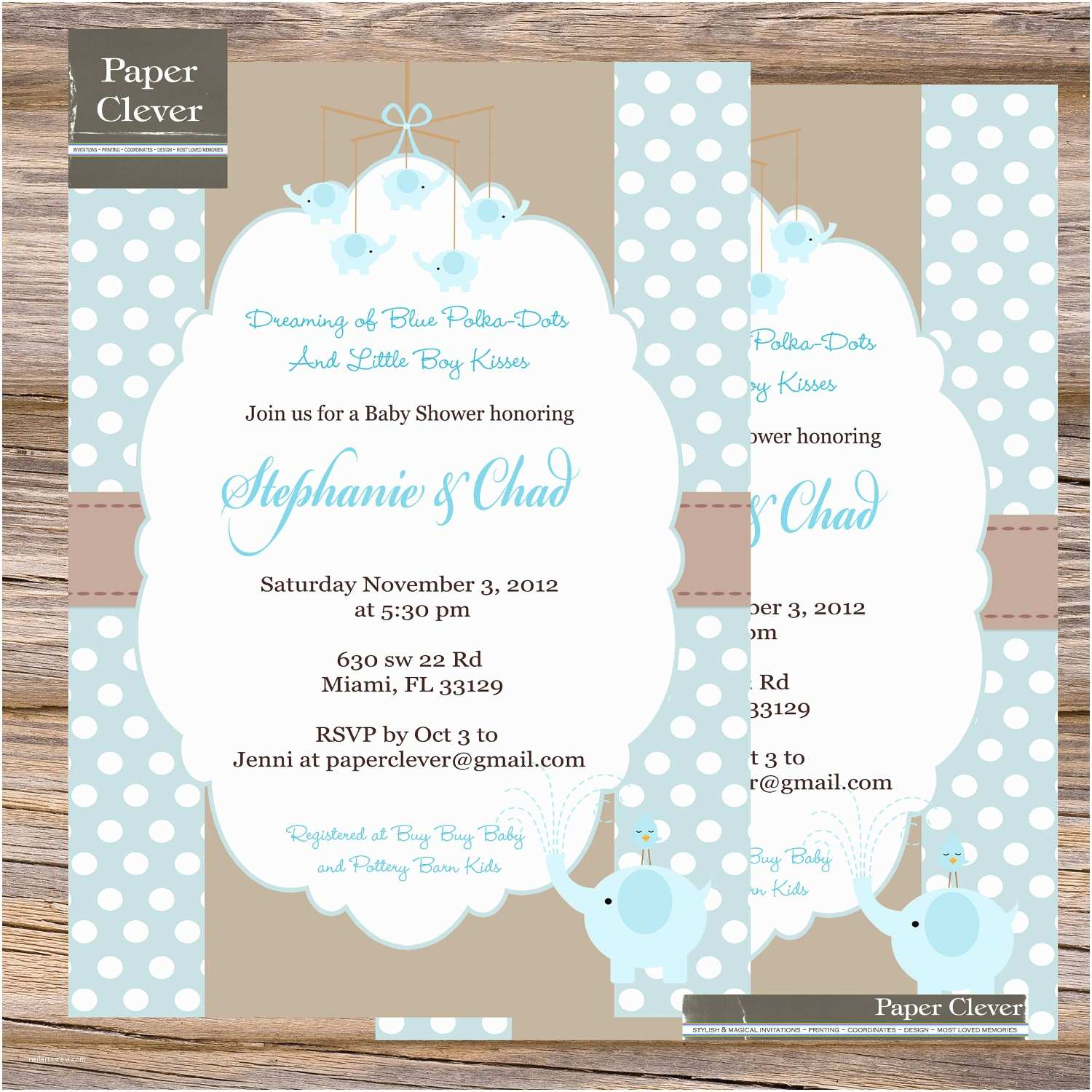 glamorous baby boy shower invitations jungle